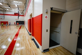 In order to avoid a federal funding cut, the Oostburg School District spent its Act 10 savings in other ways, including almost $60,000 to install an elevator in its middle school that is largely unused. Photo by Jeffrey Phelps