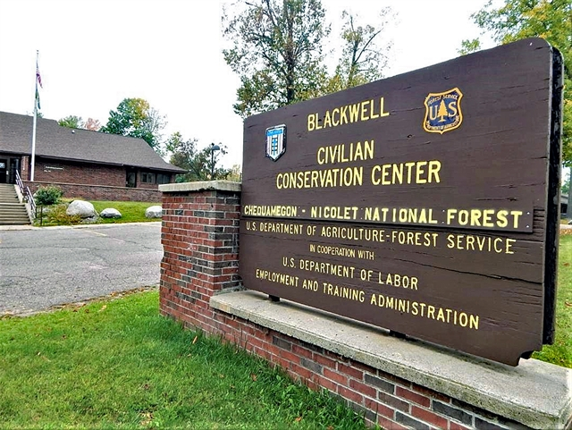 The Blackwell Job Corps Center in Laona in Forest County was among nine centers targeted for closing. RICHARD D. ACKLEY JR. PHOTO