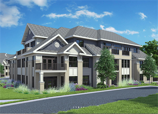 Cedarburg's TIF-funded Arrabelle apartment project is expected to be completed by fall 2019. Rendering by AG Architecture