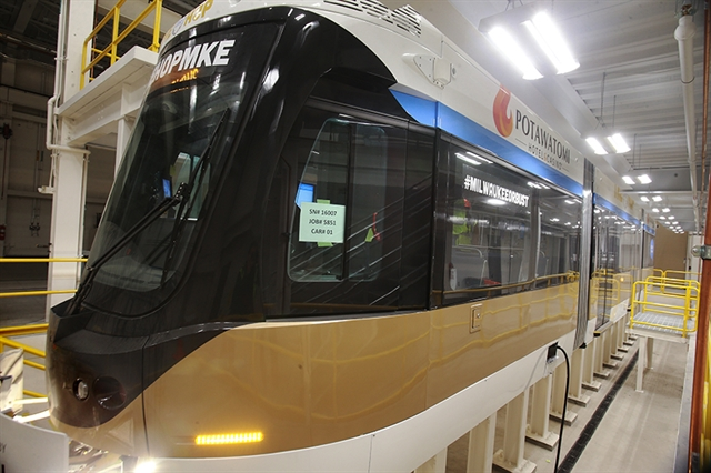 Potawatomi Hotel & Casino will pay the first year's fares for the Milwaukee streetcar under a $10 million sponsorship deal. Photo by Allen Fredrickson