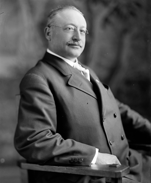 Victor L. Berger was the founding father of American socialism in the early 20th century. Library of Congress photo.