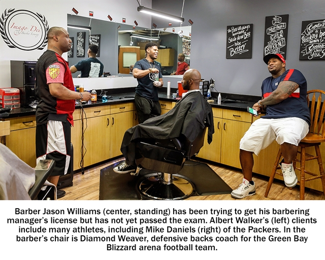 Green Bay Barber Stymied By State Licensing Rules